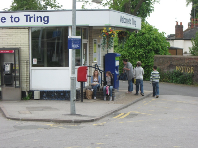 Ticket Office at Tring Station, Aldbury