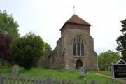 Penshurst Church from West