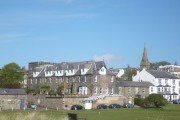 Alnmouth from the path by the golf course