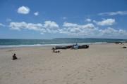 Bournemouth : Sandy Beach & Wooden Boats
