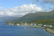 Kyleakin from Skye Bridge