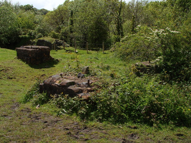 Colliery remains