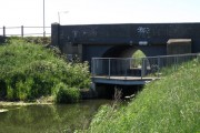 Three level bridge near Horsey Toll