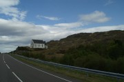Polnish Church from the Road to the Isles