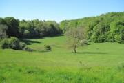 Farmland south of Maeshafn
