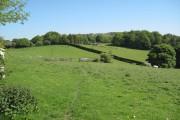 Glan-y-gors Farm, Farmland and Moel Findeg