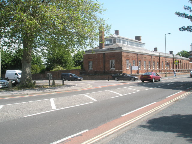 Approaching the junction of Forton Road and Mill Lane