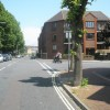 Junction of Ordnance Road and Clarence Road