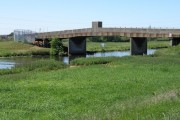 Concrete bridge over the Nene