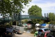 Bridge to Thames Ditton Island