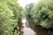 Afon Vyrnwy from Pontrobert  Bridge