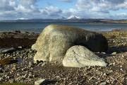 Rocks on Kilmory Beach
