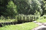 Wooden Canal Bridge