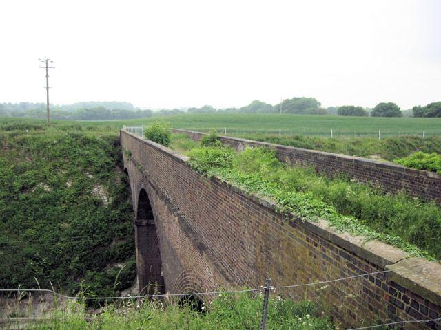 A Disused Bridge over the London to Birmingham main line