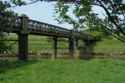 Old railway bridge, now part of the National Cycle Routes 3 and 27
