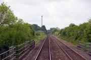 Heading south over Pinsey Bridge