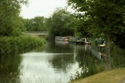 Barges on the River Stort