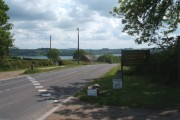A glimpse of Carsington Water