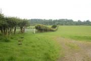 Farmland from west of lift bridge