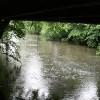 The Derwent Passes under a Small Bridge