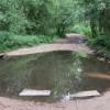 Ford on byway near Frensham Little Pond
