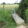 Footbridge towards Pearson's Green