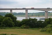 Orwell Bridge from Pipers Vale