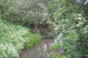 The River Mole at Horley