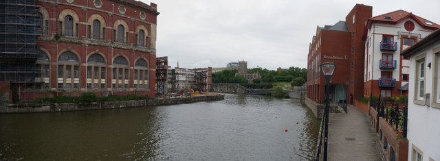Bristol : Buildings & River Avon