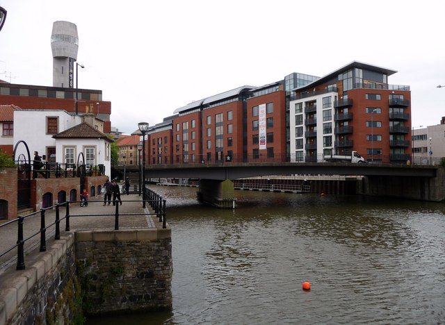 Bristol : Passage Street Bridge & River Avon