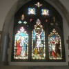 Stained glass window on the north wall of Christ Church, Gosport (1)