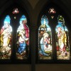 Magnificent stained class window within Christ Church, Gosport