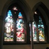 Superb stained class window within Christ Church, Gosport