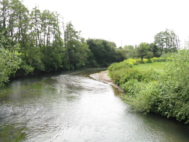 River Lugg At Marden