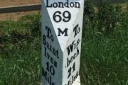 Old Milepost