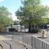 Looking across Walpole Road into Morrisons car park