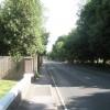 Mid section of Spring Garden Lane
