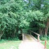 Bridge over Kent Water, Sussex Border path, Sweetwoods Park Golf Course