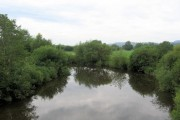 Upstream on the River Severn