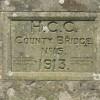 Wergins Bridge  - Builder's Plaque