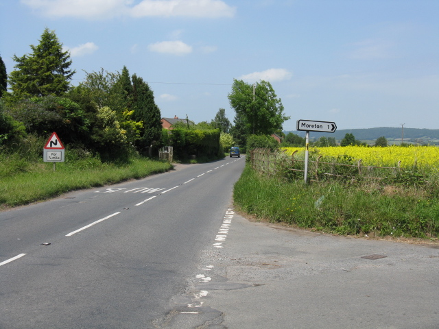 A4110 Looking North