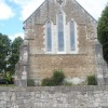 East wall of St Thomas in Elson Road