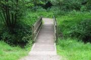Bridge over Shaw Brook, Worden Park