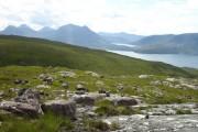 View across Abhainn Alligin