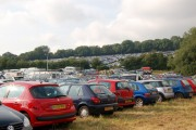 Glastonbury Festival - E1 carpark looking north
