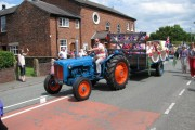 Lower Withington Rose Day procession
