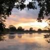 Sunset over Startops Reservoir, Near Tring