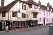 The 15th century bookshop at Lewes