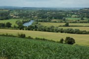 The River Severn viewed from Sandhurst Hill