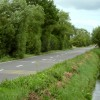 The A361 at East Lyng